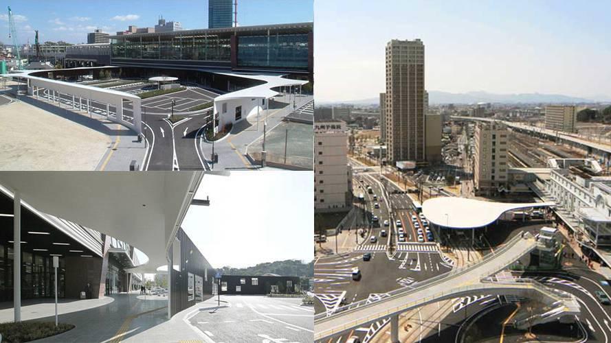3 熊本县 熊本车站新干线东西口广场