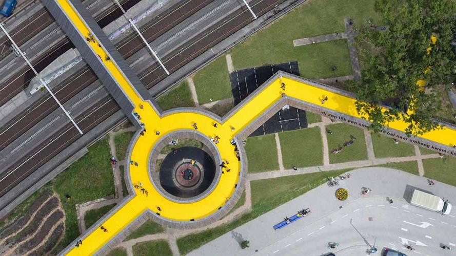 4 鹿特丹 - Luchtsingel 项目